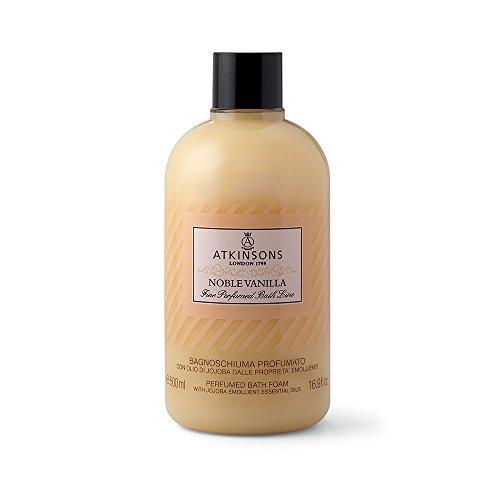 bagnoschiuma noble vanilla emolliente olio di jojoba 500 ml