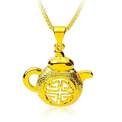Aoligei Frühling und Sommer Stil Goldschmuck Tee