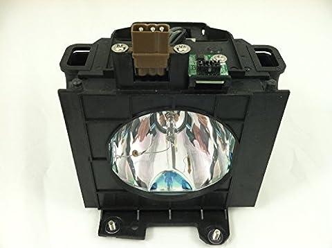 ET-LAD40lad40Lampe pour Panasonic PT-D4000PT-D4000E PT-D4000U Lampe de projecteur avec boîtier
