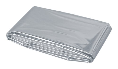 Rettungsdecke Baby, Silber-Silber, Ca. 80 x 100 cm