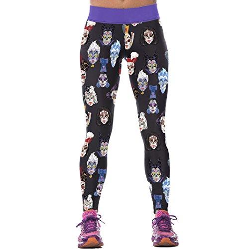 Sasairy-Donna-Sport-Pantaloni-Full-Length-Leggings-non-Pantaloni-Collant-Elastico-ci-si-Vede-Attraverso-Fitness-Workout-Yoga-in-Esecuzione-Hipster-Usura-Esterna-Palestra-S-L-Colore-012