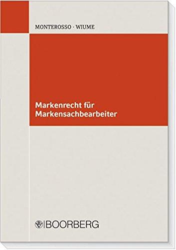 Markenrecht für Markensachbearbeiter