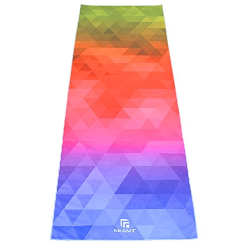 reamic-yoga-mat-towel-microfiber-movement-multifunctional-environmental-protection-breathable-absorb
