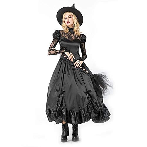 Yunfeng Hexenkostüm Damen Cosplay Halloween Kostüm Masquerade Horror Erwachsene (Masquerade Vampir Kostüme)