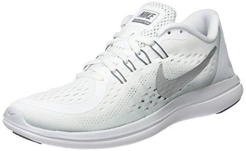 Womens Nike Sb (Nike Damen Women's Free RN Sense Running Shoe Sneaker, Mehrfarbig (100 B C O Plata), 38 EU)