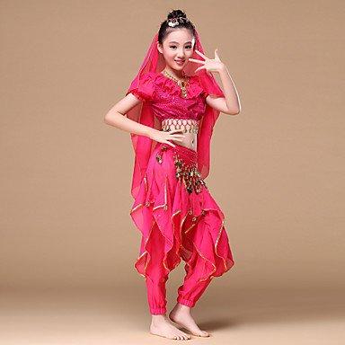 danza-del-ventre-completi-per-bambini-da-esibizione-chiffon-monetine-dorate-drappeggi-ruches-fascia-