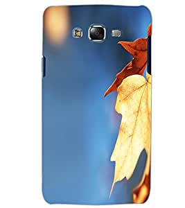 SAMSUNG GALAXY J5 LEAFES Back Cover by PRINTSWAG