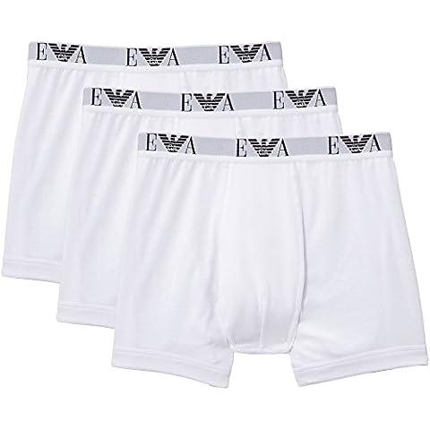 Emporio Armani Mens Knit 3 Pack Boxe - Bóxer Hombre
