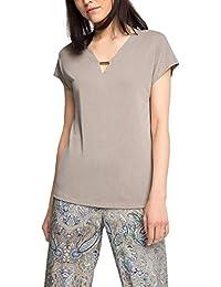 Esprit 056eo1k005-Lockerer Fall, T-Shirt Femme