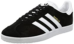 Adidas Men's Gazelle Multisport Outdoor Shoes, Black (Core Blackwhitegold Metallic), 9.5 Uk 44 Eu