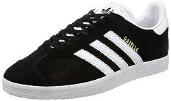 Adidas Men's Gazelle Multisport Outdoor Shoes, Black (Core Blackwhitegold Metallic), 9.5 Uk 44 Eu