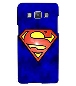 Citydreamz Superman Logo/Movies Hard Polycarbonate Designer Back Case Cover For Samsung Galaxy A5