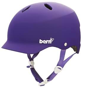 Bern Lenox Womens EPS Summer Helmet - Matt Purple - Small