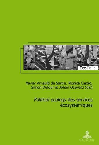Political ecology des services écosystémiques