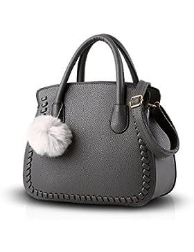 NICOLE&DORIS Damen / Frauen / weibliche Handtasche weiblichen Beutel Handtaschen Handtasche Ältere PU-Handtaschen