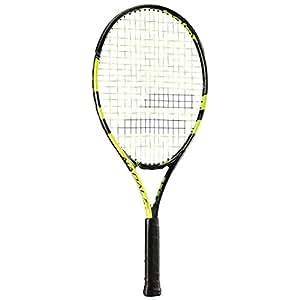 Babolat Nadal-25 Strung Tennis Racquet, Kids (Black/Yellow)