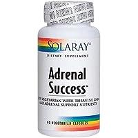 Adrenal Success 60 Cápsulas de Solaray Diseñada para Apoyar a Nuestro Organismo en Situaciones de Estrés y Ansiedad.