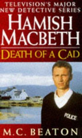 Book cover for Death of a Cad