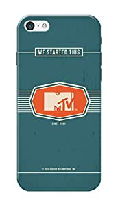 MTV Gone Case Mobile Cover for Apple Iphone 5c