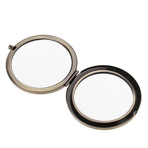 Baoblaze 1er-Set Make-up Taschenspiegel Klappbarer Zweiseitiger Kosmetikspiegel Mini Faltbarer...