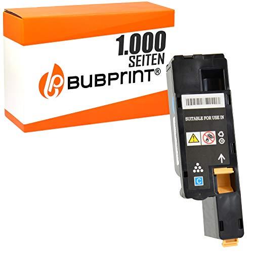 Bubprint Toner kompatibel für Dell 593-11129 5R6J0 für C1660 W C1660W C 1660 W 1.000 Seiten Cyan