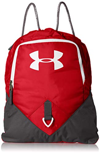 Under Armour UA Undeniable Sackpack Bolsa de Equipaje, Unisex Adulto, Rojo (600),...