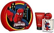 Marvel Spiderman Giftset For Kids, Eau de Toilette, 50 ml + Shower Gel, 75 ml