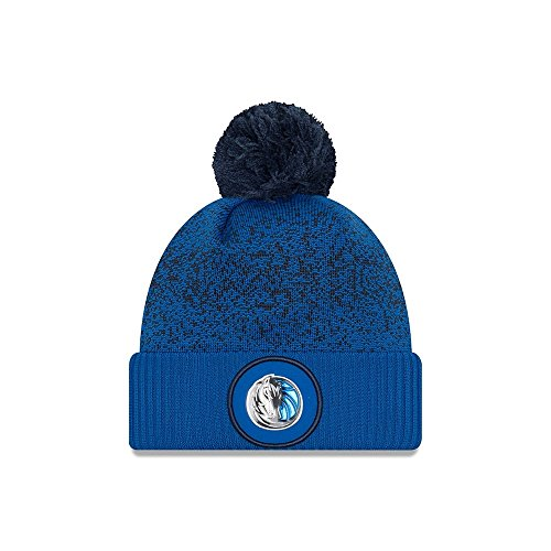 New Era Dallas Mavericks NBA '17 Pom Beanie Mütze, royal blue