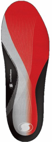 Sorbothane Double Strike Semelles Pointure Red/Grey