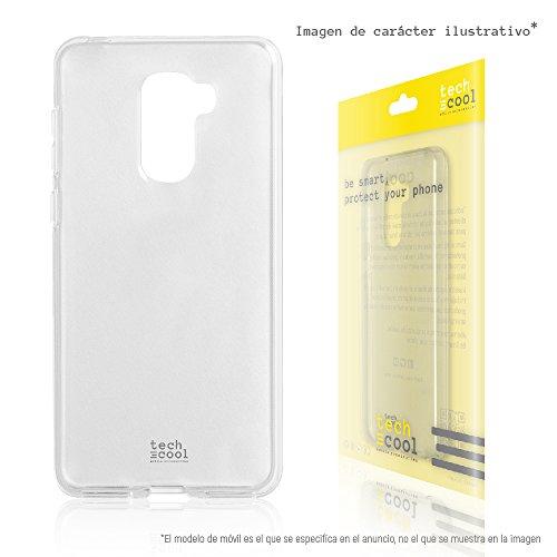 LeEco Le Pro 3 Hülle FunnyTech® SchutzHülle premium Soft Flex TPU Silikon Transparent für LeEco Le Pro 3 l Case, Cover, Handy [Ultra Dünn 1,5mm] [Kratzfest] (Klar)