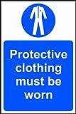 """Spectrum industriale 29.011,9cm indumenti protettivi deve essere indossato """"vinile autoadesivo segno, multicolore, 200x 300mm"""