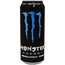 Monster Energy Absolutely Zero - Bebida energética - 500 ml - [pack ...