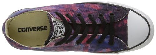Converse  Ctas Tie Dye Ox, basket mixte adulte - Red/Radio Blue/Black