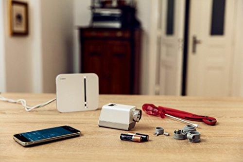 Bosch Smart Home Heizung Starter-Paket mit Controller und Heizkörper-Thermostat und App-Funktion – exklusiv für Deutschland - 6