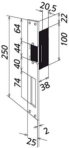 Türöffner wasserdichte DIN rechts TÖ 616-0 R, 1544220