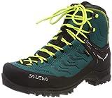 Salewa WS Rapace GTX, Zapatos de High Rise Senderismo para Mujer, Verde (Shaded Spruce/Sulphur Spring 8630), 39 EU