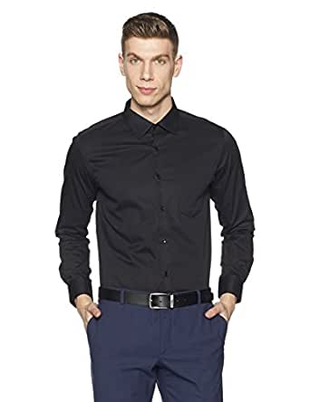 Diverse Men's Formal Shirt (8903905012043_DVF01F2L01-127_39_Black)