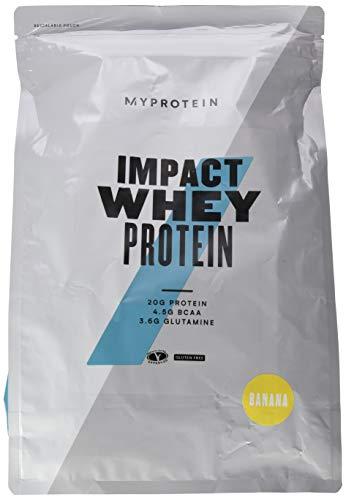 Myprotein Impact Whey Protein Banana, 2500g