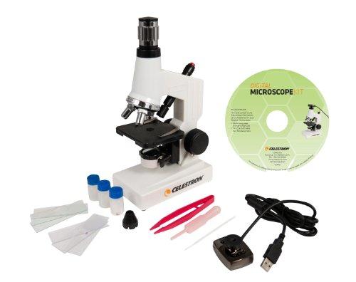 Celestron Microscopio Biologico con Webcam Digitale