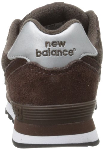 New Balance 574 Classic Traditionnels Chocolate Youth Trainers - KL574CSG Schokolade