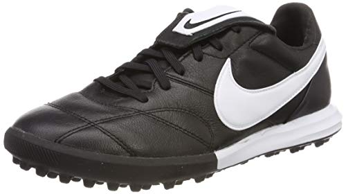 Nike Unisex-Erwachsene Premier Ii Tf Sneakers,Schwarz (White/Black 001), 43 EU