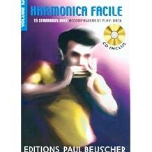 Partition : Harmonica facile vol.2 + CD