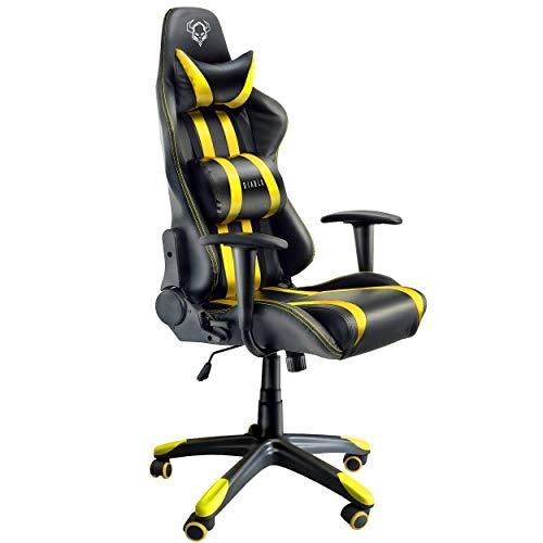 Silla gaming amarilla Diablo X-One ergonómica