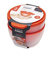 Joseph Joseph M-Cuisine Microwave Cool-Touch Bowls, Orange, Set of 2