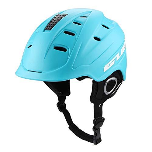 Preisvergleich Produktbild GUB616 Skihelme für Herren leichte Doppelverblendhelme Skisportausrüstung Schneehelme Skischutz & White