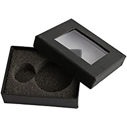 Pocket Watch Accessories Gray Velvet Christmas Gift Boxes Cases Free Shipping