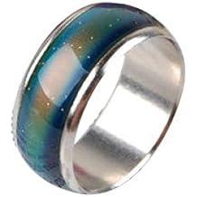 anello di emozione - TOOGOO(R) Formato degli Stati Uniti Emozione Mood colore della lega Changeable dell'anello
