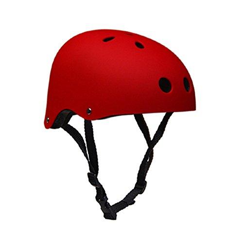 Skateboarder Helm Verstellbar Schutzhelm Fahrradhelm für Skate BMX Fahrrad Roller Sports Helm Unisex Kinder / Jugend / Erwachsener (Jugend-multi-sport-helm)