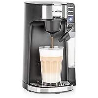 Klarstein Baristomat Heißgetränkeautomat mit integriertem Milchaufschäumer- 2-in-1 Kaffee-Maschine, 350 ml Milchbehälter…