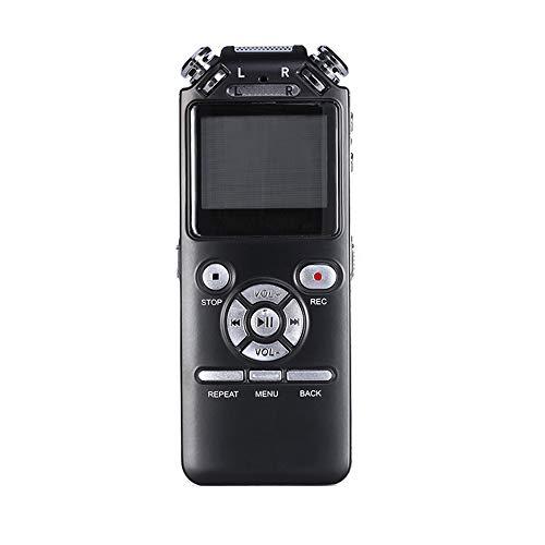 HUIGE Sprachaktiviertes Aufnahmegerät für klare Audioaufnahmen in Meetings, digitaler Diktiergerät Mini Player, hochwertiges Sound-Mikrofon